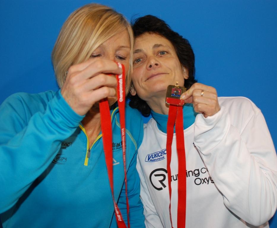 DP et PF rêvent de médailles Eaubonnaise