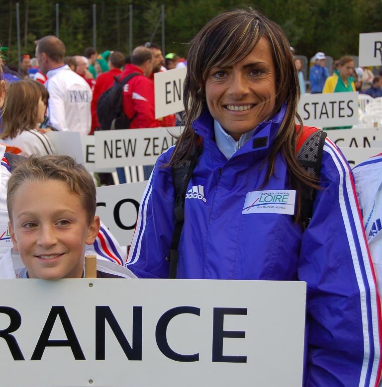Aline Camboulives se revêtira de bleu, blanc, rouge ce week-end