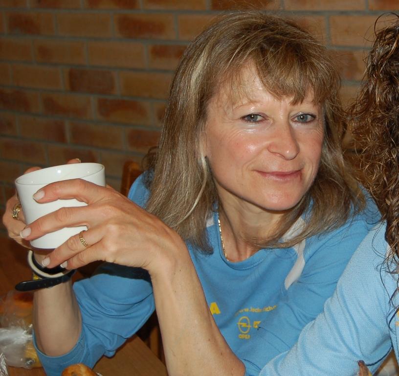Les trails sont la tasse de thé de la toujours aussi jeune Christiane.