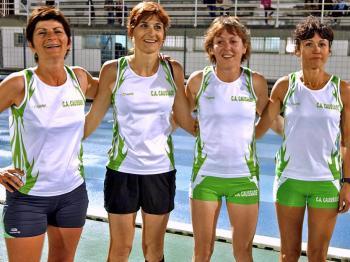 Un nouveau record pour Marie-Dominique, Laure, Nathalie et Isabelle
