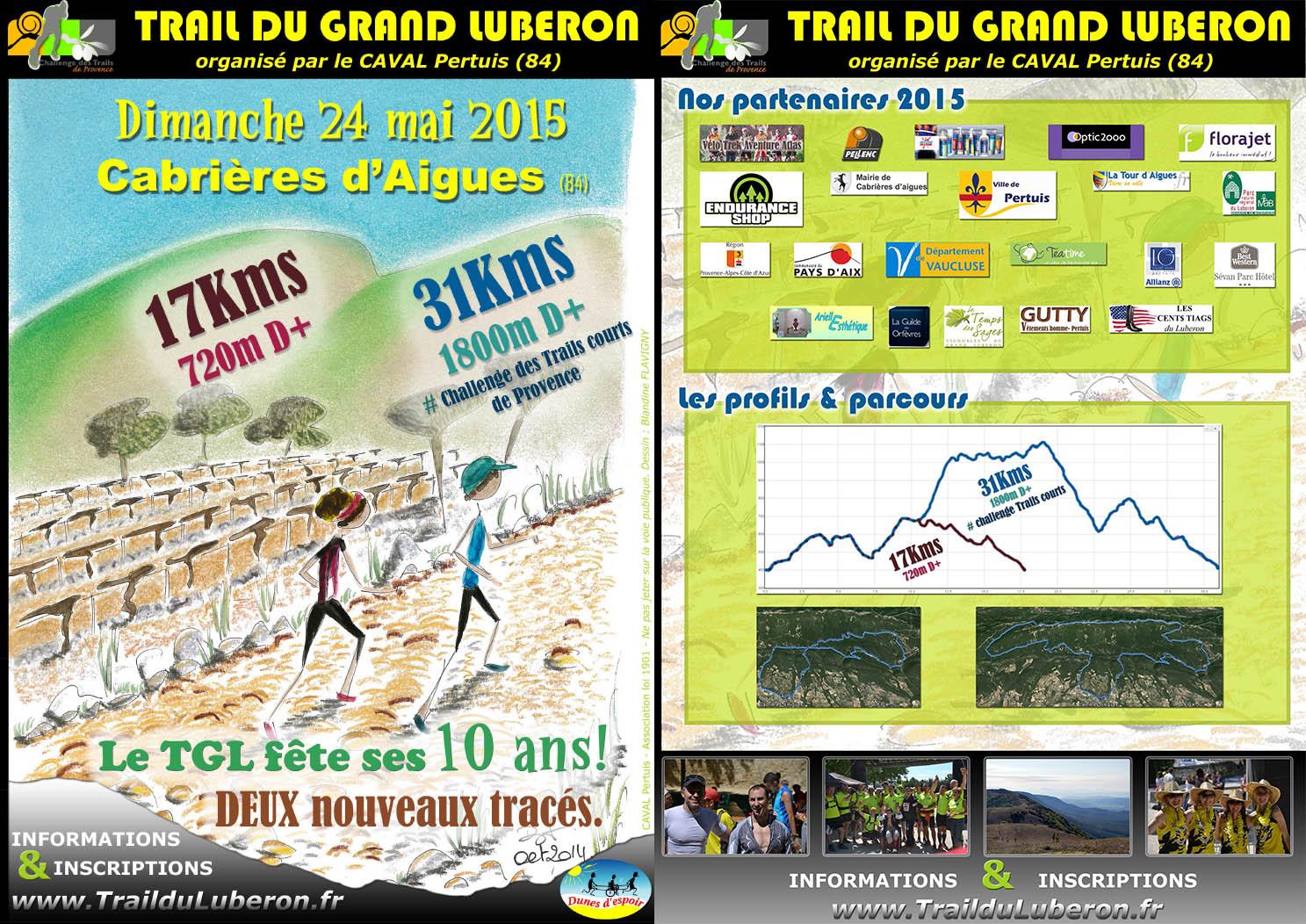 10i U00e8me  U00e9dition Du Trail Du Grand Luberon