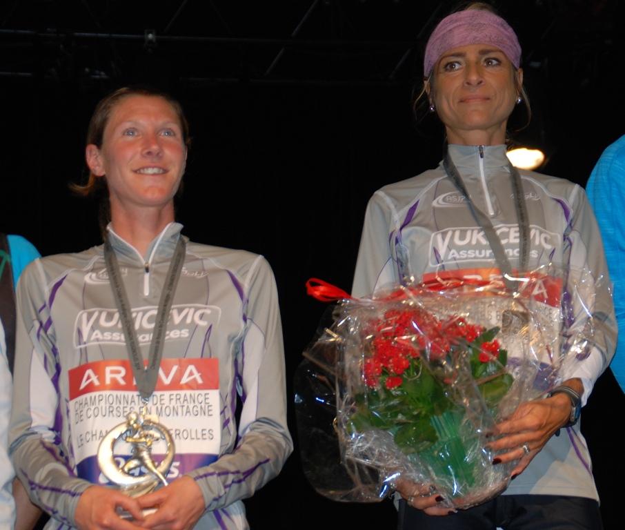 Les deux internationales, Christel Dewalle et Aline Camboulives ont largement contribué au bon classement de l'Asj74.